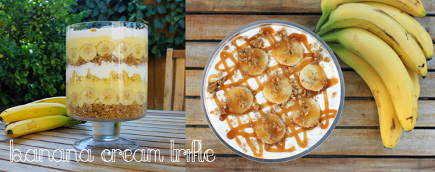 Banana Cream Trifle