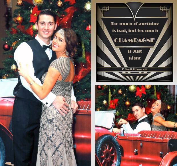 Amanda and Kevin Gatsby Party