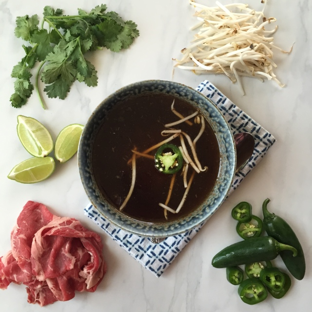 Simple to make pho