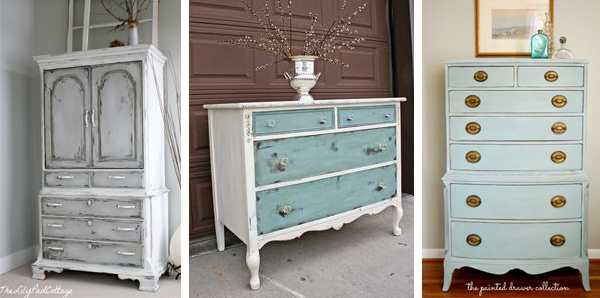 Chalk Paint Dresser Inspiration