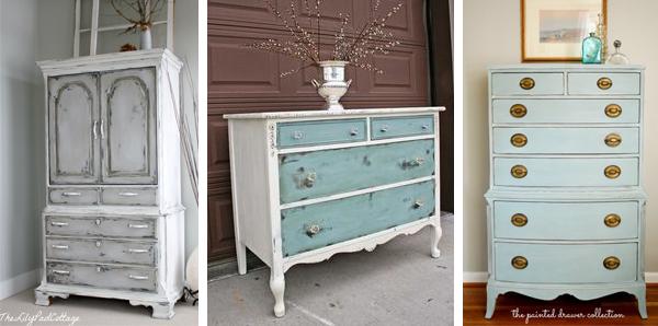 Chalk Paint Dresser Inspiration